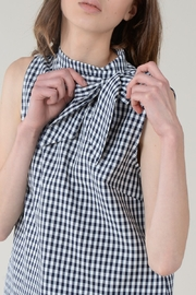 Molly Bracken SIDE BOW TOP SLEEVELESS - Front cropped