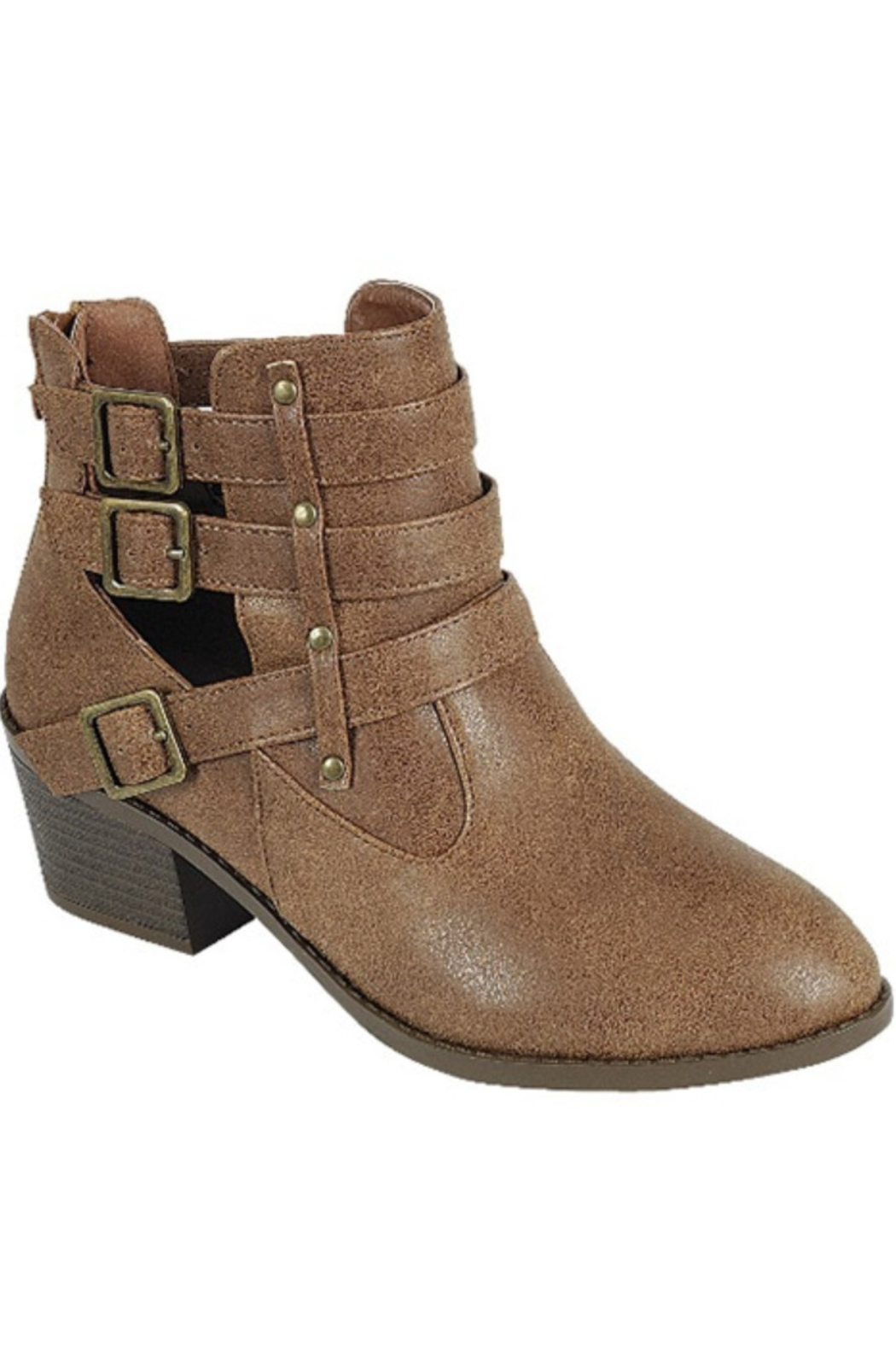 Forever Side Buckle Bootie - Main Image
