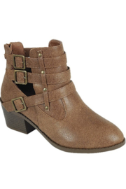 Forever Side Buckle Bootie - Front cropped