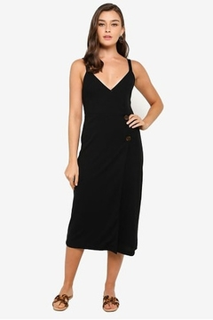 MINKPINK Side Button Midi Dress - Product List Image