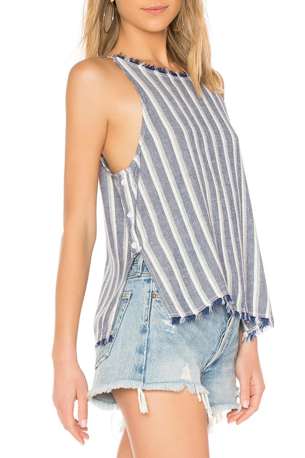 Bella Dahl Side Button Top - Front Full Image