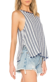 Bella Dahl Side Button Top - Front full body