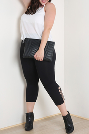 Nikibiki Side Criss-Cross Capri - Plus Size - Product Mini Image