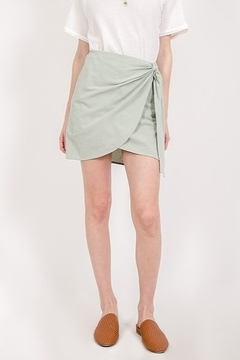 Very J Side Detail Skirt - Product List Image