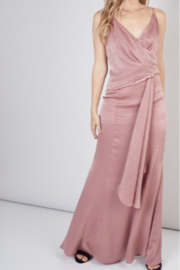 Do & Be Side Drape Maxi Dress - Product Mini Image