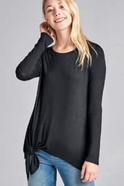 Active Basic Side Knot Top - Product Mini Image