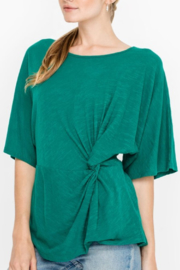 Lush Clothing  Side Knot Top - Product Mini Image