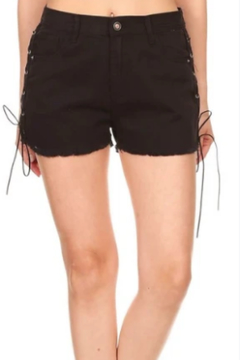 OnTwelfth Side lace shorts - Product List Image
