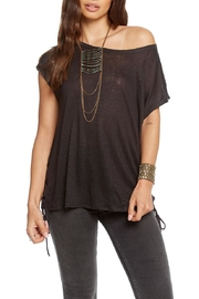 Chaser Side Lace-Up Dolman - Product Mini Image
