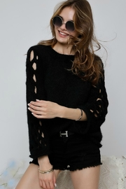 Adora SIDE OUT SWEATER - Front cropped