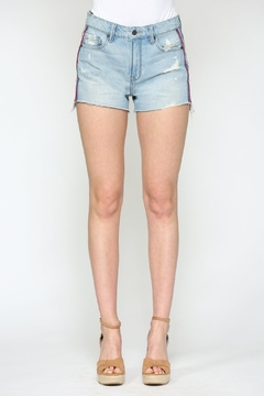 Hidden Jeans Side-Pipe Mom Short - Product List Image