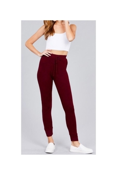 Shoptiques Product: Side Ribbed Joggers
