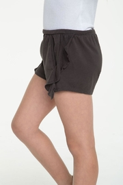 Chaser Side Ruffle Shorts - Front full body