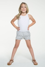 Chaser Side Ruffle Shorts - Side cropped
