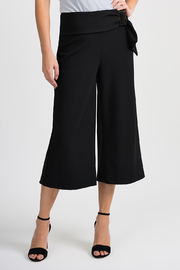 Joseph Ribkoff Side Sash Capri, Black - Product Mini Image