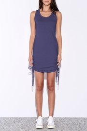 Sundry Side Shirred Dress - Product Mini Image