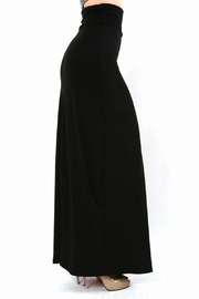 Zenana Outfitters Side Shirred Maxi - Product Mini Image