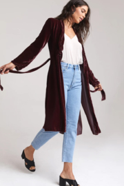 Bella Dahl  Side Slit Coat - Front full body
