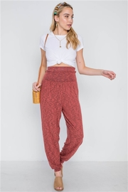 Dance and Marvel Side Slit Comfy Pants - Product Mini Image