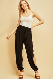 Entro Side Slit Fashion-Pants - Product Mini Image