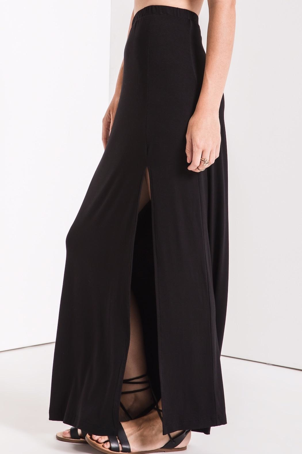 z supply Side Slit Maxi - Back Cropped Image
