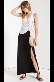 z supply Side-Slit Maxi Shirt - Front cropped