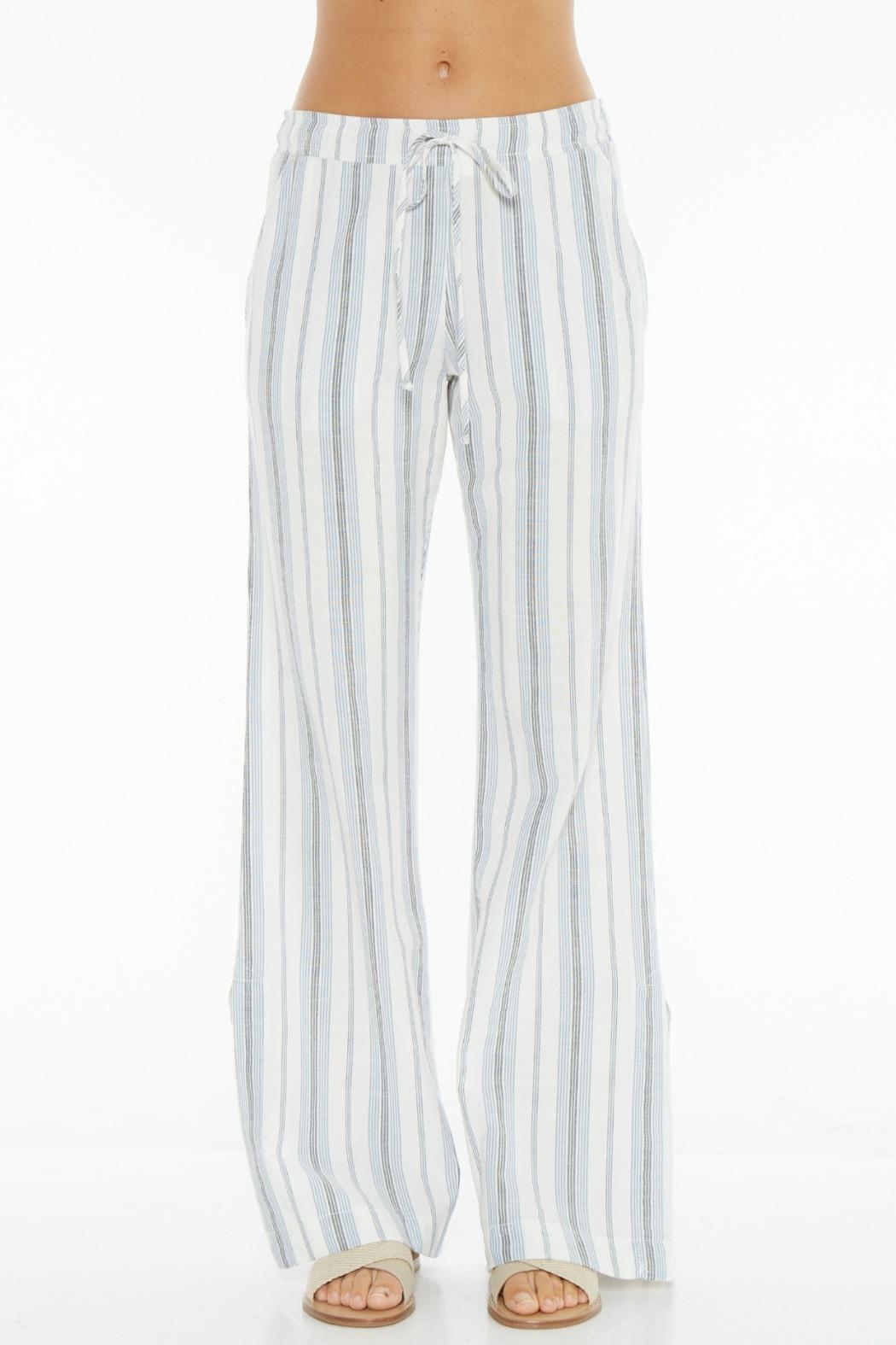 Bella Dahl Side Slit Pant - Front Cropped Image