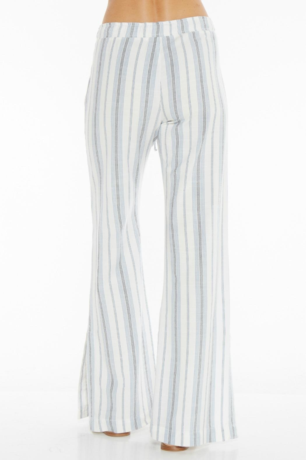 Bella Dahl Side Slit Pant - Side Cropped Image
