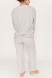Project Social T Side Slit Pullover - Front full body