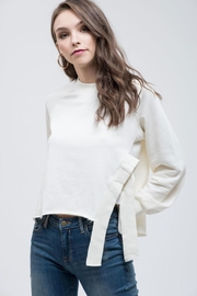 Blu Pepper Side Slit Sweater - Product Mini Image