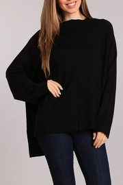 Blvd Side Slit Sweater - Product Mini Image