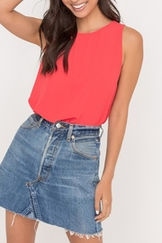 Lush  Side Slit Tunic Tank - Product Mini Image