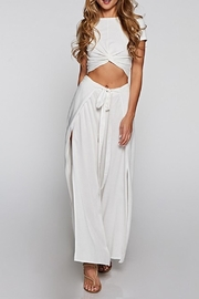 Lovestitch Side-Slit Wrap Pants - Product Mini Image
