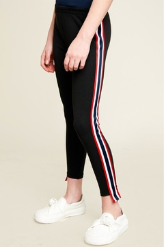 R+D Hipster Emporium  Side Stripe Leggings - Product List Image