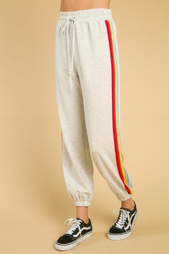 Shoptiques Product: Side Stripe Sweapants