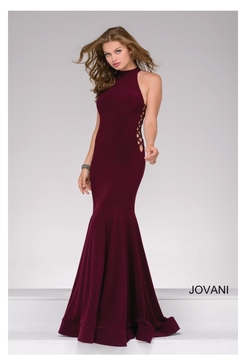Jovani Side Tie Gown - Product List Image