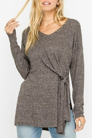 Lush Side Tie Pullover - Product Mini Image