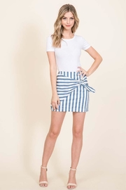 Lumiere Side Tie Skirt - Product Mini Image