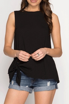 Shoptiques Product: Side Tie Tank