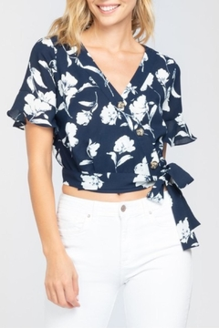 Everly Side Tie Top - Product List Image