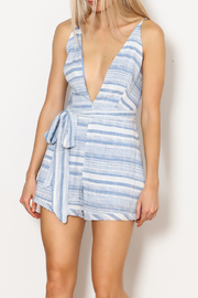Dee Elly Side Tie Wrap Romper - Product Mini Image