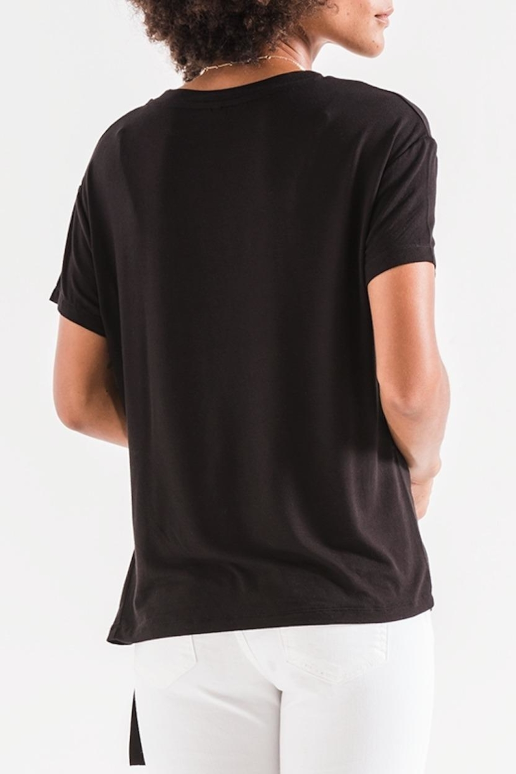 z supply Side Wrap Tee - Front Full Image