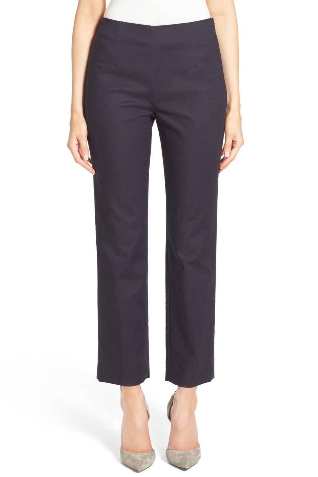 Nic + Zoe Side Zip Pant - Front Cropped Image