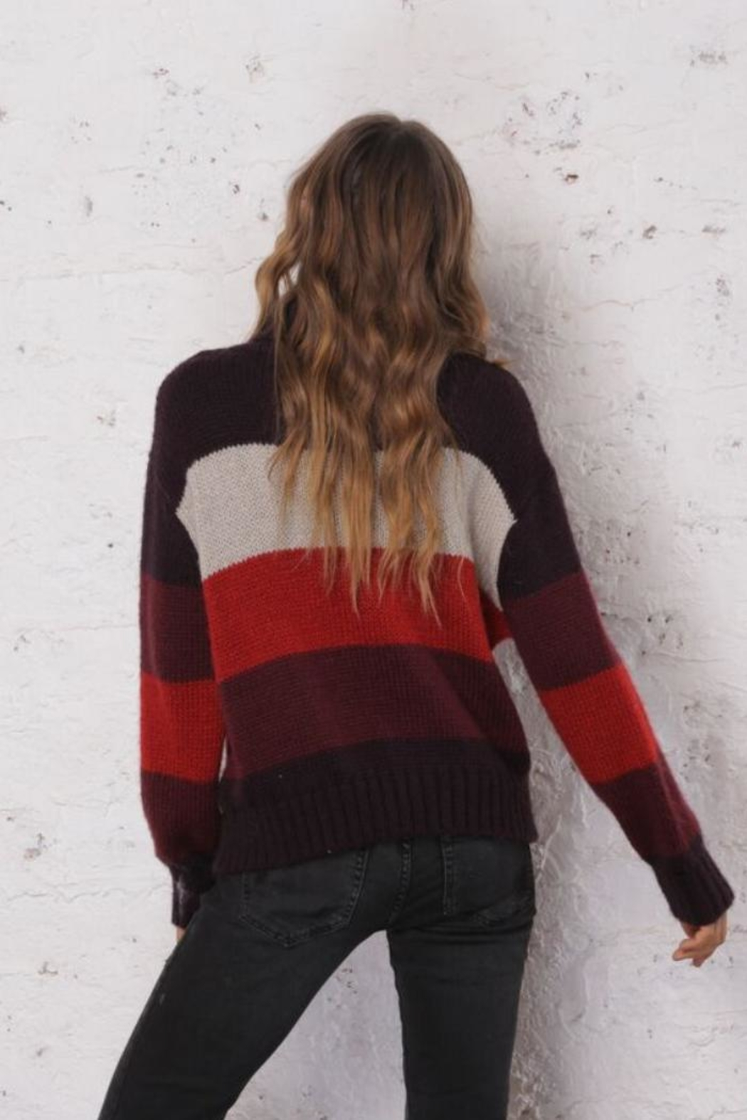 Wooden Ships Side-Zip Sweater - Side Cropped Image