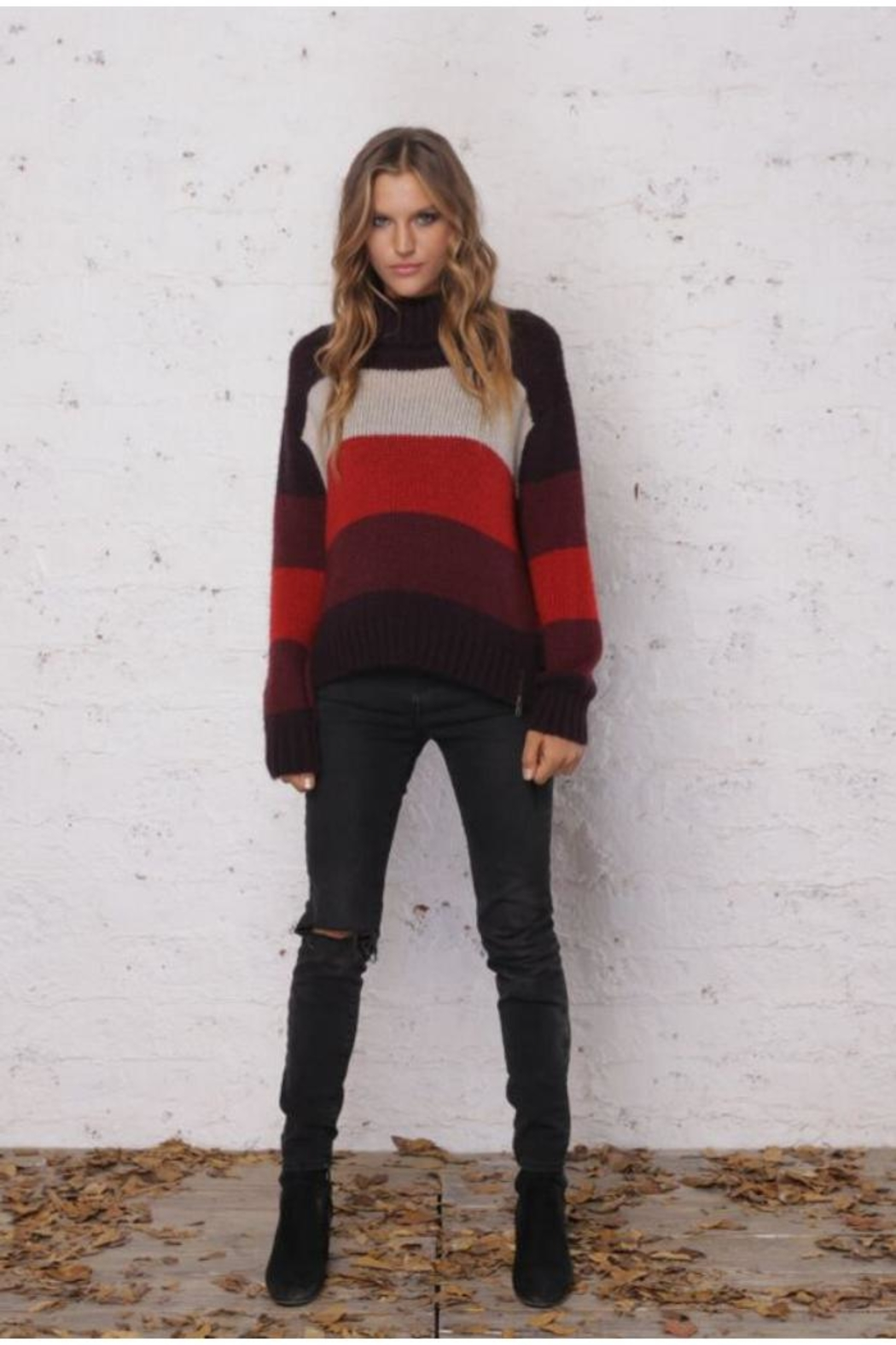 Wooden Ships Side-Zip Sweater - Main Image
