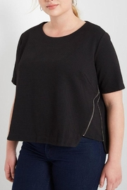MaiTai Side Zipper Top - Front cropped