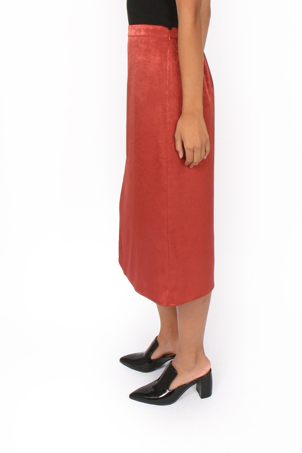 Side Party Blixen Midi Skirt - Side Cropped Image