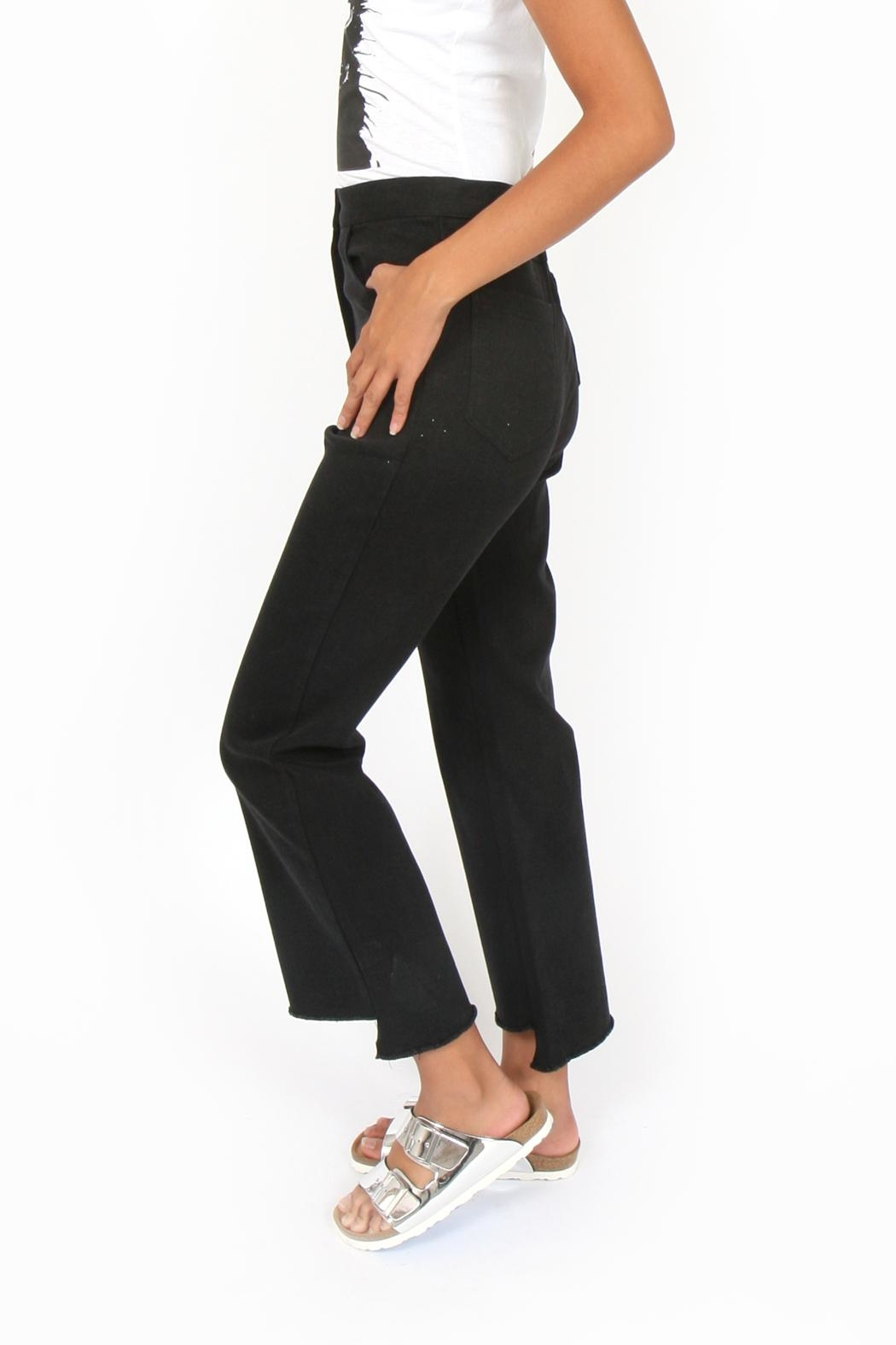 Side Party Thelma Step Hem Jeans - Side Cropped Image