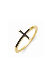 CDO  Sideways Cross Ring - Product Mini Image