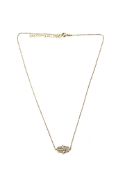 Lets Accessorize Sideways Mini-Hamsa Necklace - Product Mini Image
